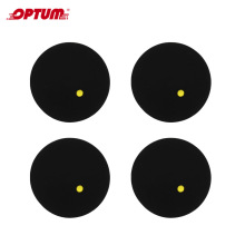 4 шт/12 шт/30 шт маткот мяч для сквоша один желтый горошек низкая скорость резиновый мяч для тренировки соревнований мяч для сквоша