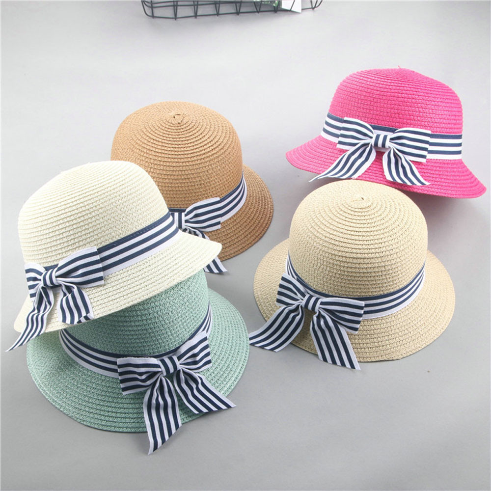91b767221e3 Hat Cap Children Breathable Straw Hat Kids Hat Boy Girls Hats Beach ...