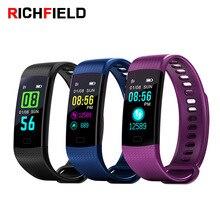 RICHFIELD Y5 Smart Bracelet fitness bracelet Tracker Heart Rate Blood pressure Blood Oxygen Pedometer Smartwatch men women band