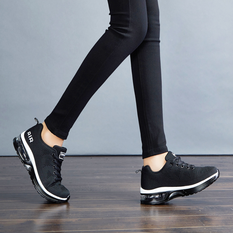 E TOY WORD Women Sneakers Air Cushion Shoes Autumn Women Fitness Sports Shoes flying woven Women Shoes Comfortable Casual Shoes in Women 39 s Vulcanize Shoes from Shoes