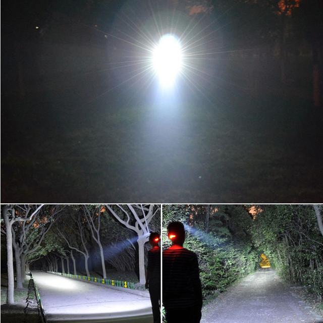 Headlight 12000 Lumens 3x CREE XM-L2 LED High Power Head light Headlamp Lamp +2*18650 Battery +Charger +Car Charger +USB