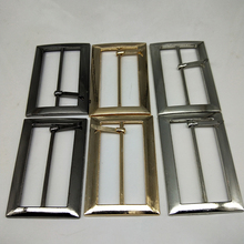 Metal Square belt buckles for shoes bag garment decoration 5 cm 3 colors Belt Buckles DIY Accessory Sewing 20 pcs/lot