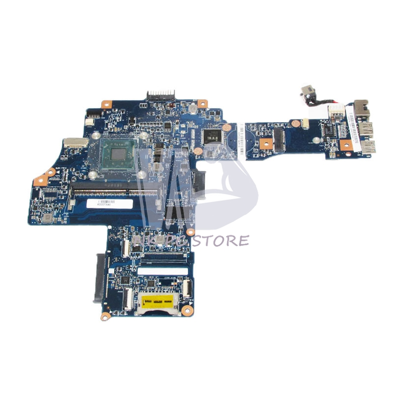 H000073980 Main Board For Toshiba Satellite C40-B CA10BM Laptop Motherboard N2840 CPU DDR3 Full tested v000138700 motherboard for toshiba satellite l300 l305 6050a2264901 tested good