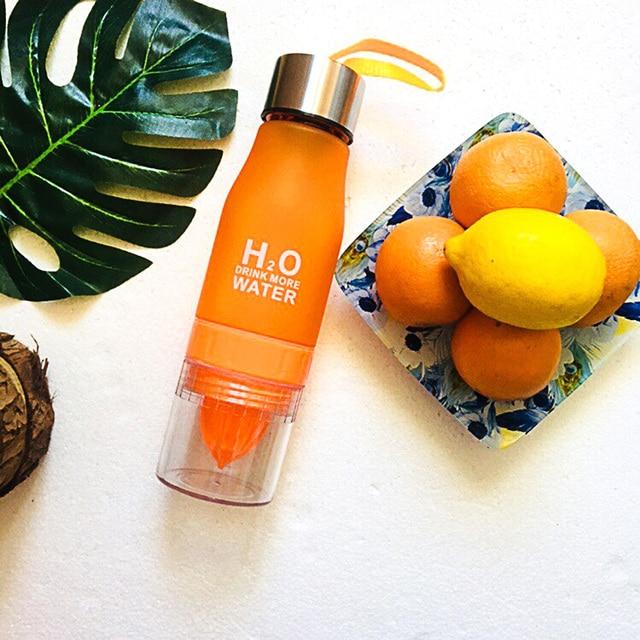 Transhome Creative Fruit Juice Infuser Water Bottle 650ml 3