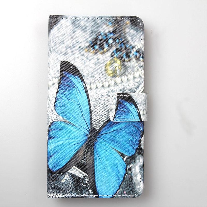 For Vivo Iqoo Neo 855 Xiaomi Black Shark 2 Pro Mi CC9 Meitu Mix 3 5G ZTE Blade 20Smart Painted Flip Cover Slot Phone Case