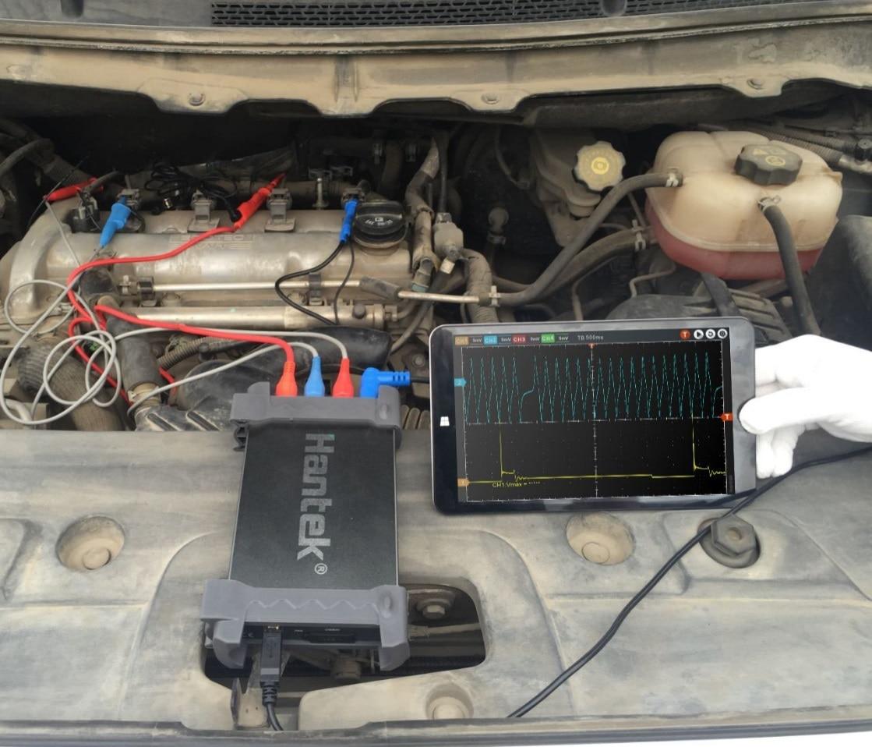 US $166 45 33% OFF|Oscilloscope Hantek6074BE KIT I Automotive Diagnosis  Equipment Car Diagnostic Oscilloscope Automobile Oscilloscopio-in  Instrument
