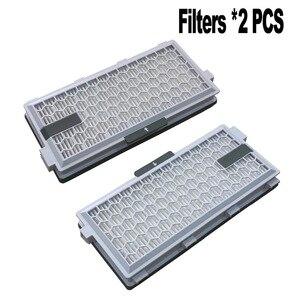 Image 2 - 2 Set SF HA 50 Per Miele filtro HEPA S4 S5 S6 S8 S8000 S8999 S6000 S5000 S5999 S4000 S4999 completeC2 C3 Compatto C1 C2 filtro