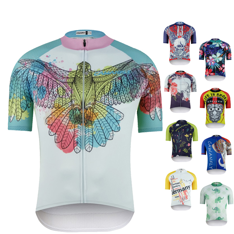 2019 Biking Jersey Biking Clothes Bicycle Brief Sleeve Males Workforce Sport Bicycle Bike Clothes Bicycle Put on Ropa Ciclismo Biking Jerseys, Low-cost Biking Jerseys, 2019 Biking Jersey Biking Clothes...