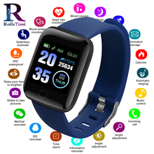 RollsTimi новые умные часы для мужчин монитор сердечного ритма кровяное давление для женщин фитнес-трекер Smartwatch спортивные наручные часы IOS Android