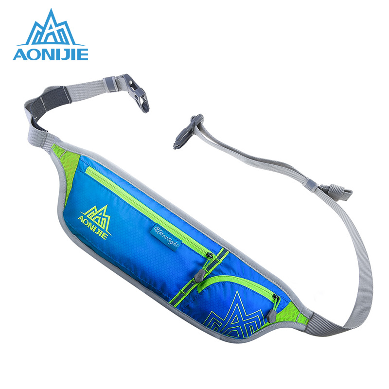 AONIJIE Running Bag For 6 Inch Phone Marathon Waist Pack Outdoor Hiking Racing Fitness Money Belt Hip Bag