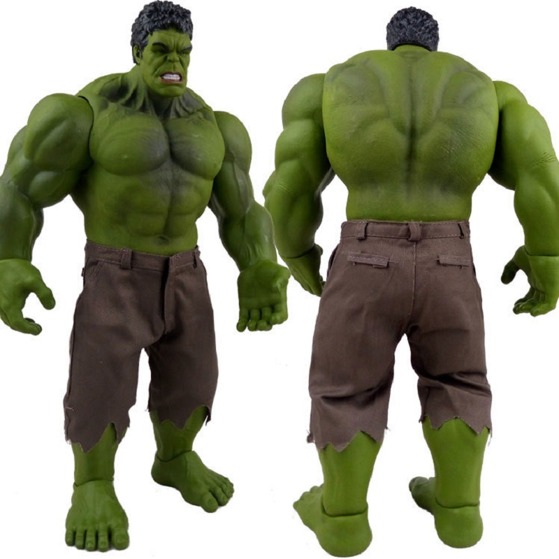 42cm Hulk Action Figure Toy Anime Hulk Arm Head Leg Body Movable Display Model Jouet Marvel Avengers:Infinity War Super Hero