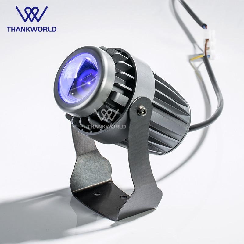 VW moder Spotlight 10W CREE alumínium LED projektorfény 220v kültéri világítás 110v ip65 tájkert külső világítás
