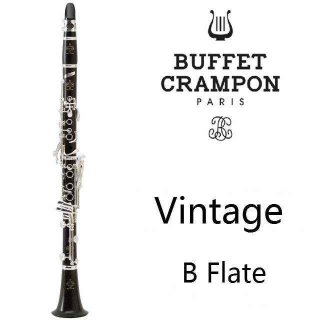 New Buffet Vintage Series Crampon Professional Wood Clarinet Ebony Professional Clarinet A Student Model Bakelite