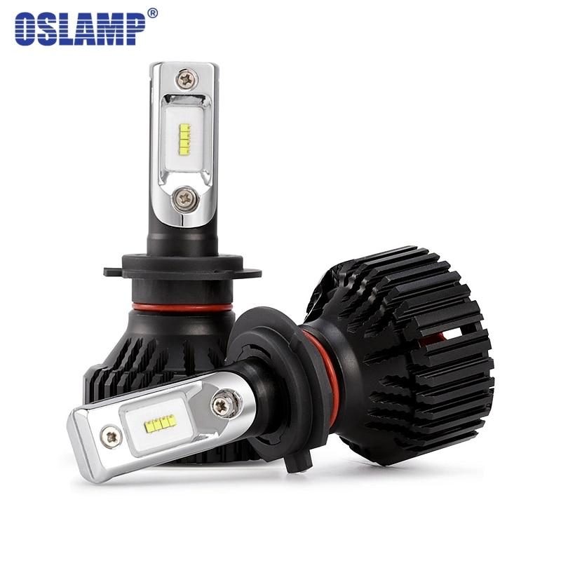 Oslamp H7 один луч зэс чипов автомобилей Светодиодный лампы 60 Вт 8000LM 6500 К H7 светодиодный лампы фар авто фары противотуманные лампочки Светодиод...