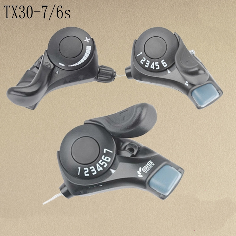 Shimano SL TX30 Tourney Mountain bike Trigger Shifters 6/7s 18/21s Speed Shift Levers bicycle shifter Derailleur Compatible