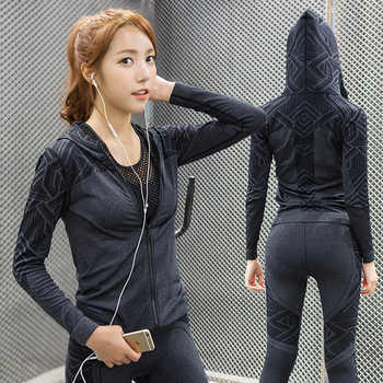 Eshtanga Women jacket Quick Dry Hoodie Jackets Top Quality windproof Jackets Outdoor Stretch fabric Joggin Jacket Free shipping - DISCOUNT ITEM  5% OFF Sports & Entertainment