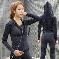 Eshtanga femmes veste séchage rapide vestes à capuche Top qualité coupe-vent vestes extérieur Stretch tissu Joggin veste livraison gratuite