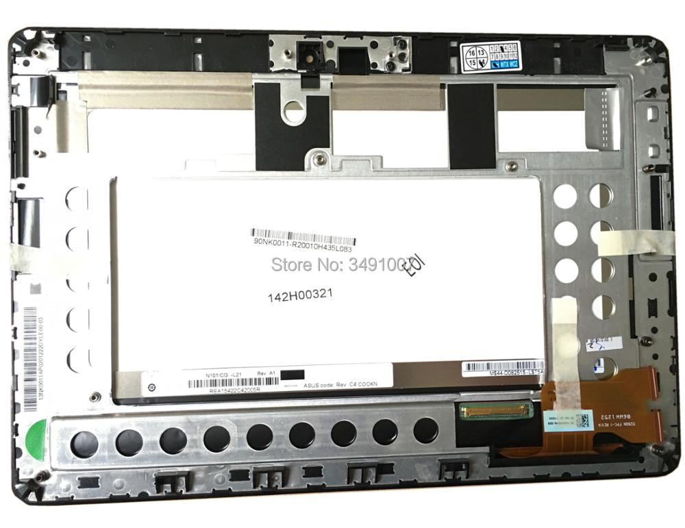 цена HSD101PWW1 N101ICG-L21 5280N FPC-1 LCD Touch Screen Digitizer Assembly For Asus Memo Pad ME301T онлайн в 2017 году