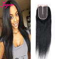 Free Shipping 8A Straight Human Hair Malaysia Virgin Hair Bundles With Closure Unprocessed Soft Human Hair Extension Can Be Dyed
