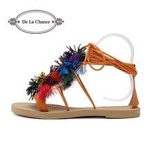 frange chaussures lacets sandales