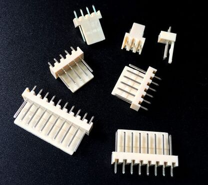 KF2510 2/3/4/5/6/7/8/9/10 Pin 2.54mm Pitch Male Pin Header Connector Strip Pin Connectors Adaptor
