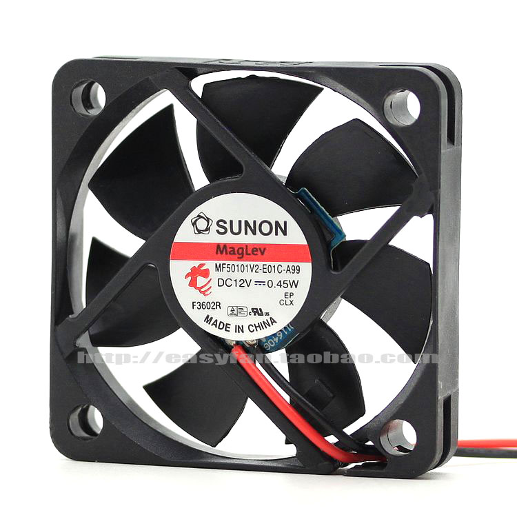 brand new SUNON Maglev MF50101V2-E01C-A99  5CM silence 5010 cooling fan dhl ems 5 lots brand new sunon kde2412pmb1 6a 120x120x38mm 12cm cooling fan axial 24vdc 10 3w
