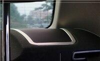 For BMW 7 series F01 2010 2011 2012 2013 2014 2015 Interior Rear Speaker Cover Trim 2pcs