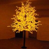 Бесплатная доставка LED клен свет, 1.5 м 636 светодиоды Водонепроницаемый IP65 LED Рождественская елка свет, свет праздника AC110 240V