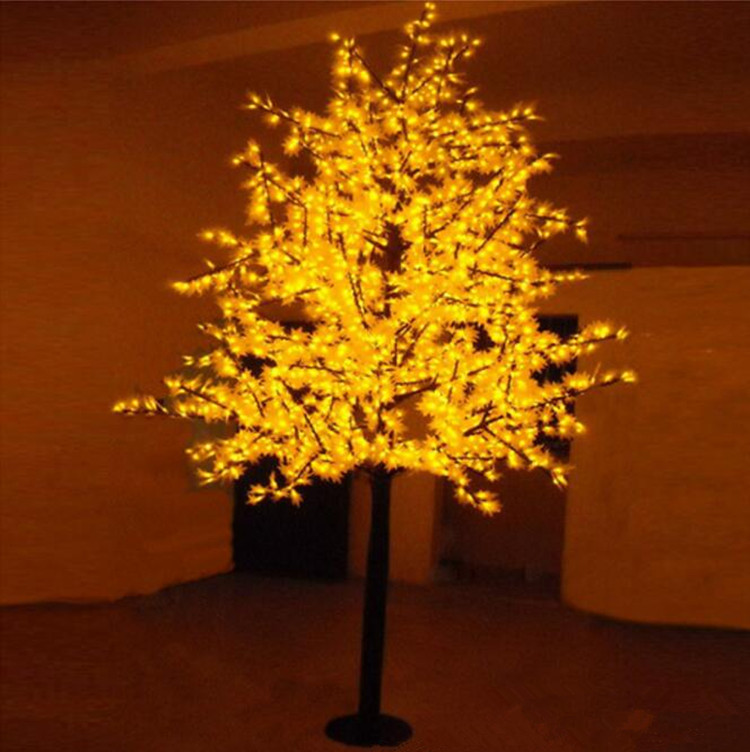 Free Shipping LED maple tree light,1.5M 636Leds Waterproof IP65 Led christmas tree light ,led holiday light AC110 240V