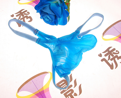 Men's  underwear transparent sexy tight pants  convex men's underwear men sexy thong jockstrap gay underwear gay underwear
