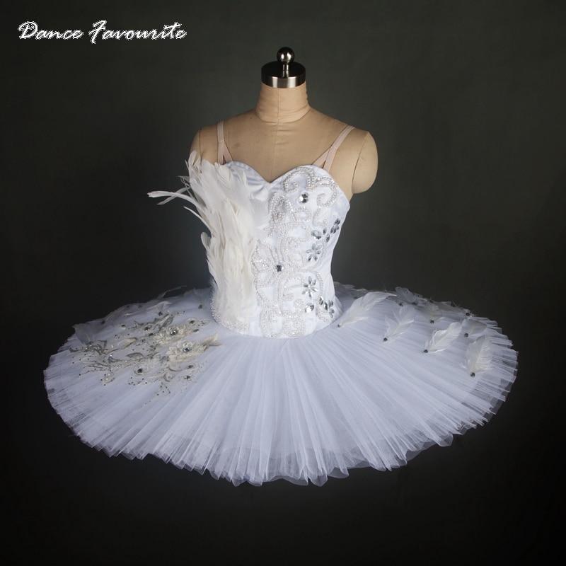 Highly professional white ballet tutu women & girl stage performance classical ballet tutu ballerina pancake tutu
