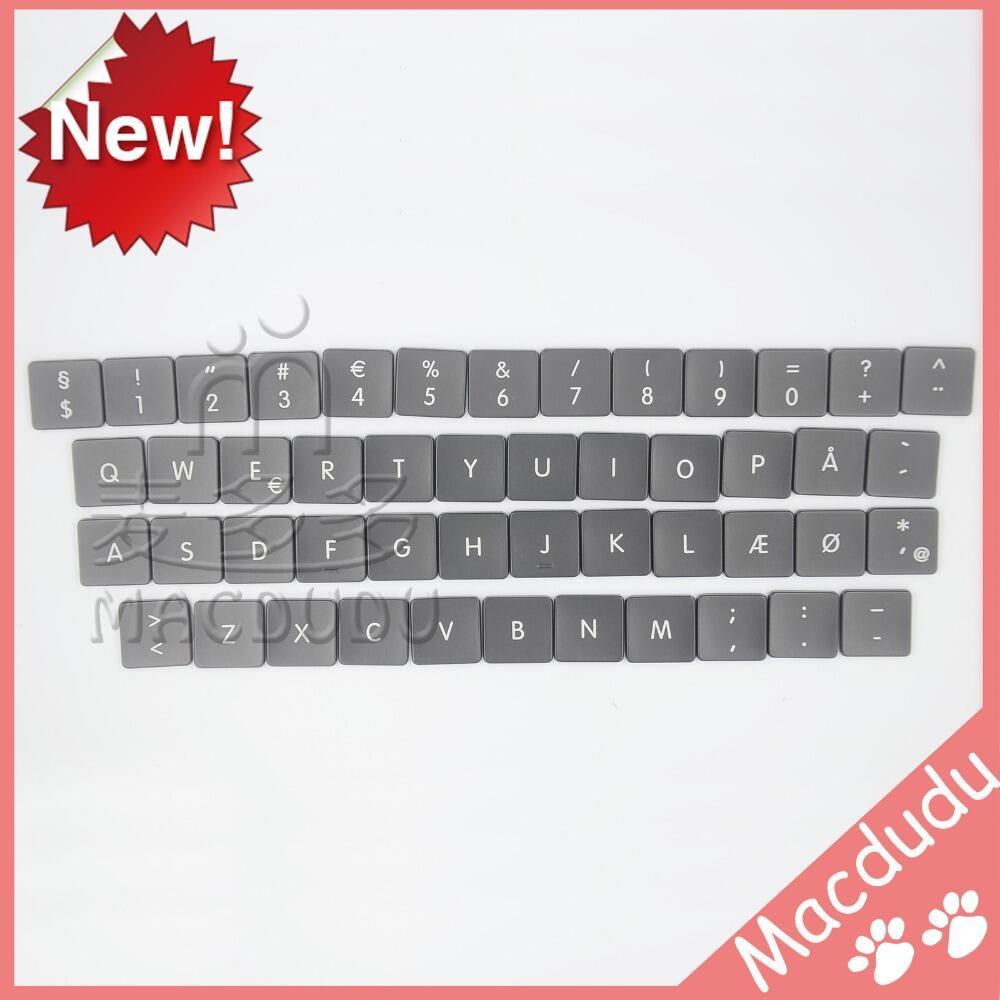 NEW AC07 for Macbook Pro Retina A1466 A1369 A1425 A1502 A1398 Danish DK Denmark Keyboard Keys 48pcs/Set Regular Keys new laptop keyboard for lenovo thinkpad new x1 carbon 2014 deutsch german swedish danish norwegian us layout