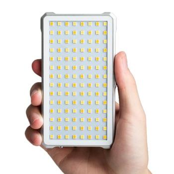 D10 Bi-color Video mini Pocket Dimmable LED Portable Fill Light for Phone shooting YouTube Live canon nikon pentax camera