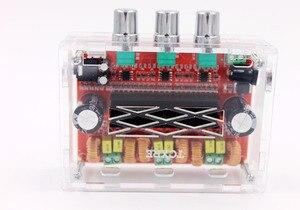Image 2 - TPA3116 D2 50Wx2+100W 2.1 Channel Audio Digital Subwoofer Power Amplifier Board 12~24V Amplifier Boards Modules