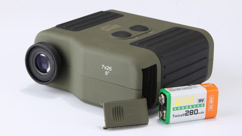 Laser Entfernungsmesser Outdoor : 7x25 laser entfernungsmesser am schnellsten bereich mess 5 2000 mt