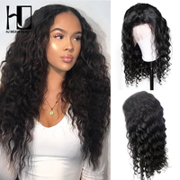 HJ Weave Beauty 13x6 Lace Front Human Hair Wigs Brazilian Natural Wave Remy Hair Pre Plucked Natural Hairline With Baby Hair
