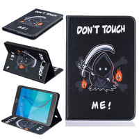 Fashion Painting Series Luxury Flip Leather Case For Samsung Galaxy Tab A 8 0 T355 T350