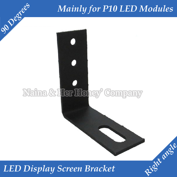 2 teile/los Rechten winkel 90 grad <font><b>LED</b></font> display Screen Halterung Vor Allem Für <font><b>P10</b></font> <font><b>LED</b></font> <font><b>Module</b></font> Display image