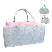 Детская корзина для хранения подгузников, детские салфетки для подгузников, сумка-Органайзер Caddy, корзина, удобная для переноски, влажные салфетки, сумка, контейнер для салфеток с защелкой