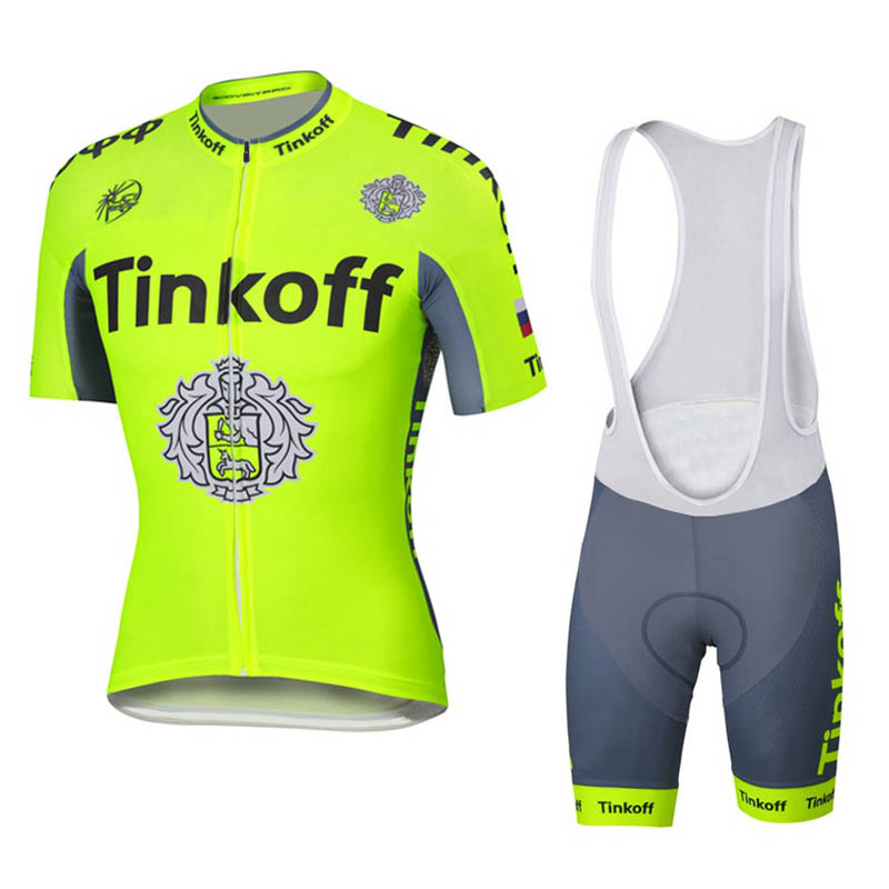 T-shirt grey Team Tinkoff-Saxo