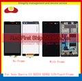 """5.5"""" For Sony Xperia C3 D2533 D2502 S55U S55T Full LCD Display Touch Screen Digitizer Sensor Lens Panel Assembly Complete+Frame"""