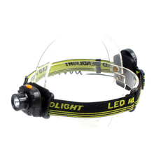 CREE Q5-XPE Headlamp LED Headlight 3*AAA Battery Waterproof Would Not Charge Head lamps 3 Switch Mode Non Adjustable Focal