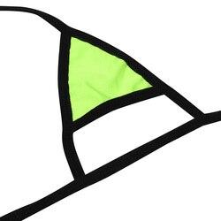 Комплект женского нижнего белья из 2 предметов, ремешки, уздечка, сексуальный популярный топ с завязками по бокам, Т-образный вырез сзади, от... 4