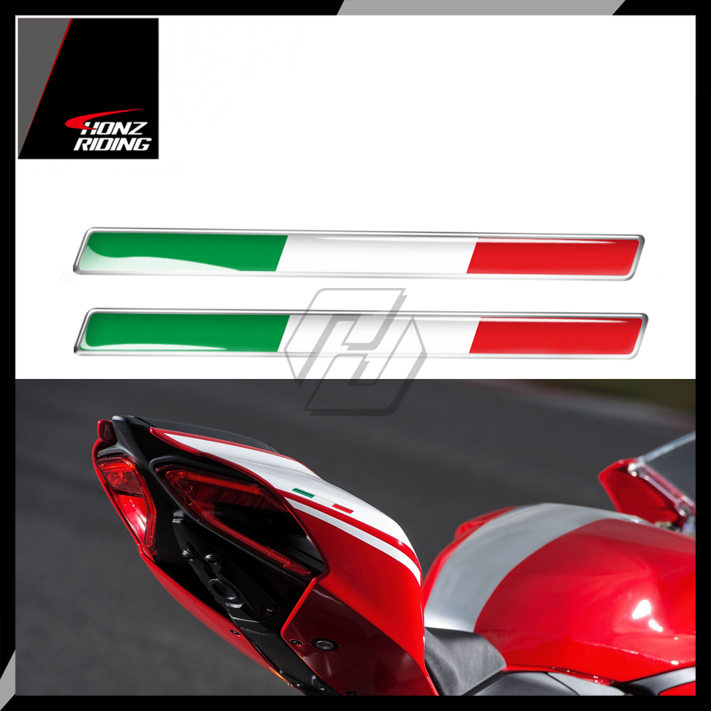 For Aprilia RV4 RSV4 Ducati Monster 848 959 899 1098 1199 1299 for Piaggio Vespa 3D Italy Sticker Motorcycle Sports Sticker
