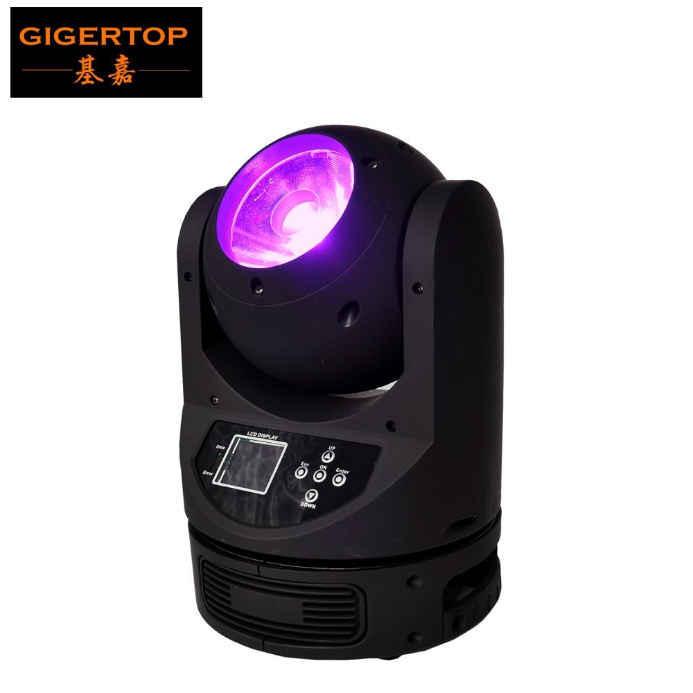 Freeshipping Stage lighting Nekonečné otáčení 4v1 RGBW 60w LED s pohyblivou hlavou paprsek Ayrton MagicDot-R 60W vysoká propustnost objektivu