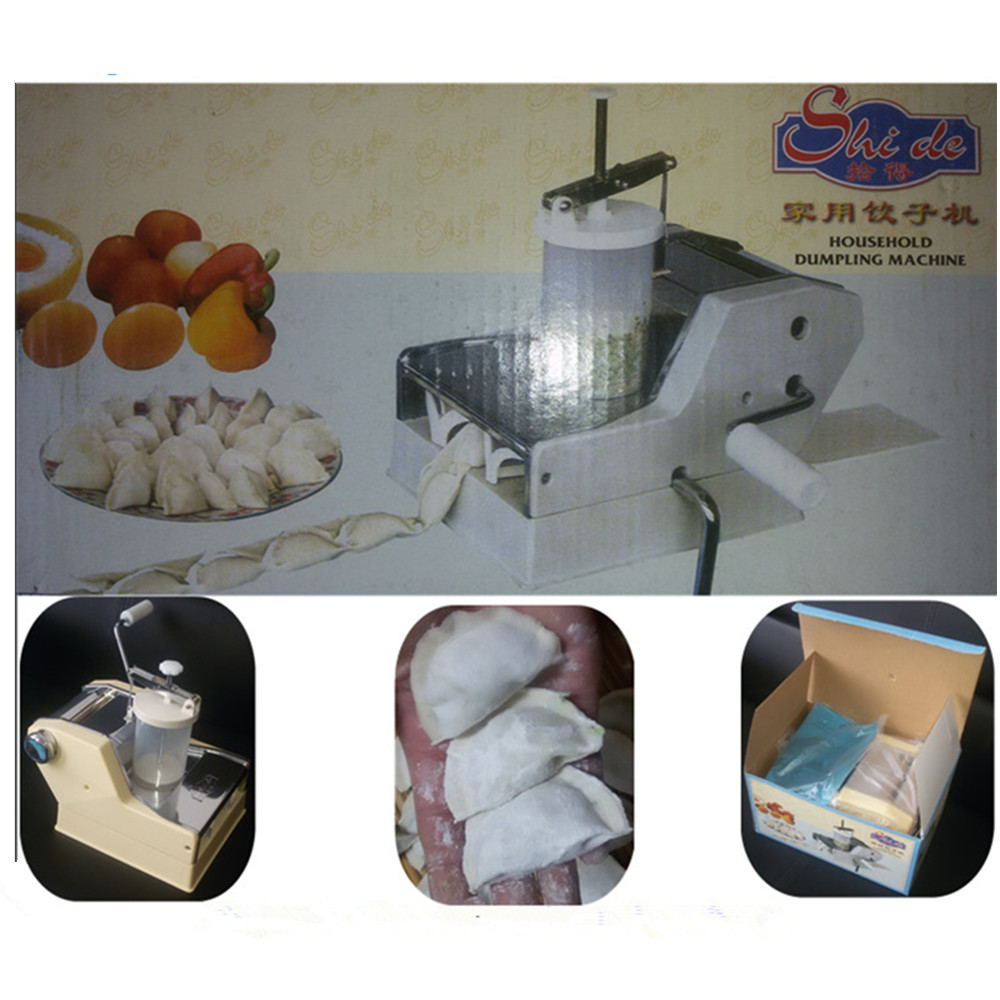 Dumpling machine home use multifunctional hand-cranked dumpling ravioli machine maker kitchen tools household manual dumpling maker machine hand cranked jiaozi pelmeni machine