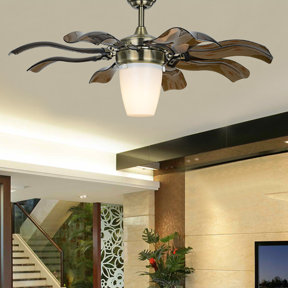 Luxury Ceiling Fan Us 398 Ultra Quiet Ceiling Fan 220v Luxury Ceiling Fan Modern Fan Lamp For Living Room Innovative Ceiling Lights With Lights In Ceiling Fans From