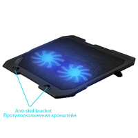 Laptop Cooling Pads USB Notebook Stand For Laptop Cooler Cooling Laptop Two Quite Cooling Fan Fixture