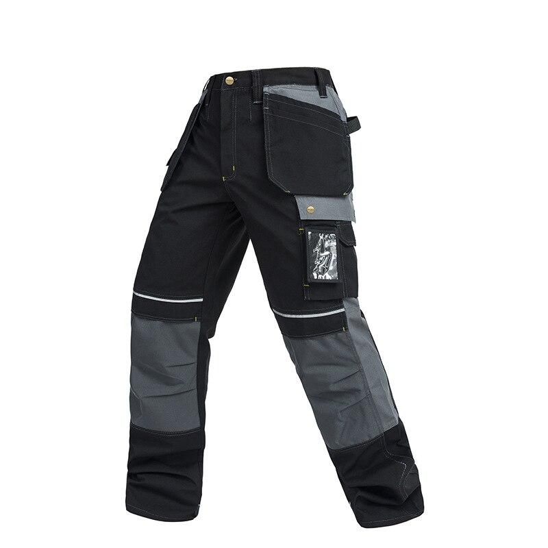 401d70be Рабочие брюки с несколькими карманами износостойкие рабочие механик  штаны-карго рабочая одежда брюки высокое качество