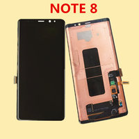 6.3 For Samsung Note 8 LCD Note8 Lcd Display Touch Screen Digitizer Assembly For Samsung Pro N9500 N9500F N900D N900DS
